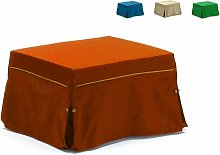 Pouf letto trasformabile in letto con materasso