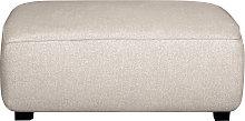 Pouf modulo di divano in tessuto beige PLURIEL