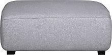 Pouf modulo divano in tessuto grigio chiaro PLURIEL