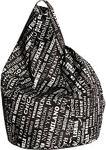 Pouf poltrona sacco impermeabile per esterni