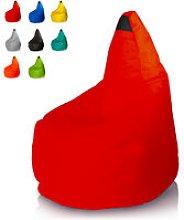 Pouf sacco pera esterno giardino colorato puff