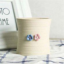 PPLAX Ceramica Vaso succulente pentola pianta Mini