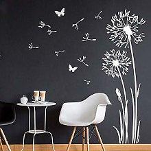 PPuujia Farfalle Dente di Leone Adesivo Murale