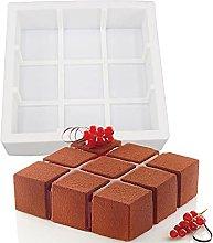 PPuujia Stampo per Cioccolato 3D Geometrico