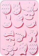 PPuujia Stampo per Cioccolato in Silicone Stampo