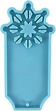 Pratico stampo in silicone epossidico blu per