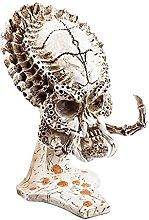 Predator Skull Model Figurine Intagliato A Mano