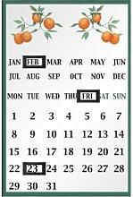 Premier Housewares 2800634 Calendario Magnetico,