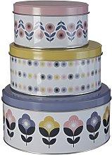 Premier Housewares Joni - Set di 3 barattoli