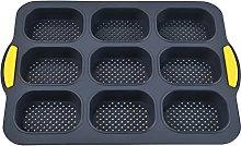 Prevessel Teglia da forno in silicone, vassoio di