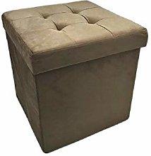 PREZIOSA HOME Pouf Contenitore Sofa Panca Baule in