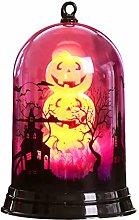 Primst Lanterna di Zucca di Halloween,Luce