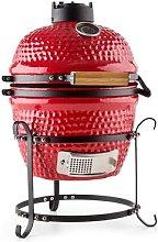Princesize barbecue Kamado grill in ceramica