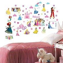 Principesse Disney Adesivi murali per camera da