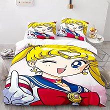 Probuk Sailor Moon Anime Biancheria da letto per