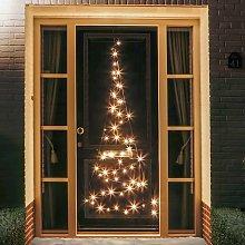 Profilo albero natale da porta Fairybell® 60 LED