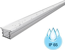 Profilo alluminio ambienti esterni umidi IP65