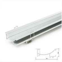 Profilo Alluminio Per Striscia Led Per Le Scale -