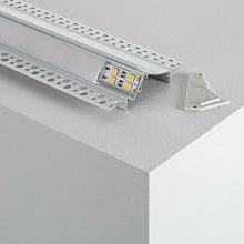 Profilo in Alluminio da Incasso in Gesso /