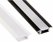 Profilo per Striscia LED Finitura : Bianco