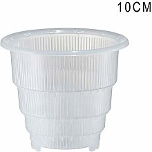 Proglam - Vaso in plastica per Orchidee e Fiori,