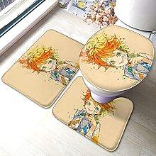 Promised Neverland - Set di 3 tappetini da bagno