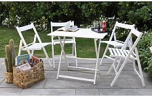 Promo set giardino tavolo Price + 4 sedie