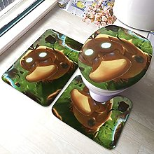 Psyduck - Set di 3 tappetini da bagno antiscivolo