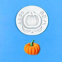 Pumpkin acero foglie muffa caduta stampi fondente