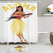 PUNKDBOTTO - Set di tende da doccia in Aloha con
