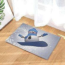 Pupazzo di neve del fumetto della decorazione di