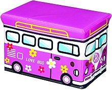 Pusher Scatola Porta Giochi, Love Bus