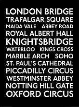 Pyramid International - Poster con Cornice London