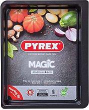 Pyrex Magic Stampo da Forno, Acciaio Inox, Nero