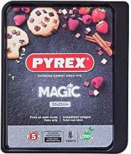 Pyrex MG33BV6 - Teglia da forno, 33 cm, colore: