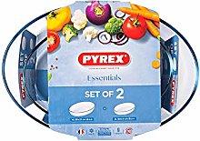 Pyrex S2 FTES Oval 39x27 30x21 Essentials PX