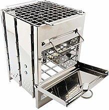 QAZW Griglia Pieghevole per Barbecue Zaino per