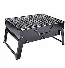 QAZW Griglia Portatile Pieghevole per Barbecue