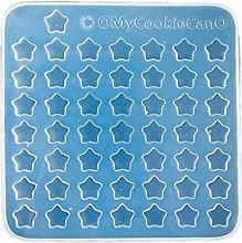 Qiman Stampo in silicone a forma di stella, con