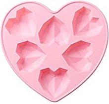 QINGJIA Innossiato 1 pezzo Diamond Heart Amore