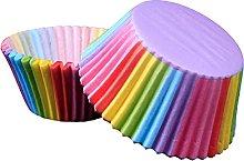 QINGJIA Non-stick # 100pcs torta stampo per la