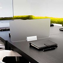 QJKai Opaco Vetro Plexiglass Bancone,60x30cm /