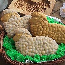QKFON Modello di Torta di Pan di Zenzero in Legno