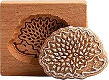 QKFon, stampo in legno intagliato per biscotti in