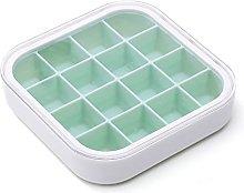 QKFON - Vassoio per ghiaccio in silicone,