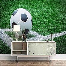 QMWZZV Murale Sfondo Personalizzato 3D Calcio In