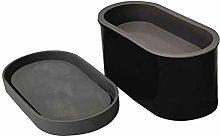 QPY Stampo per vasi da Fiori in Cemento Fatto a