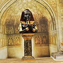 QQJJSUDIW Faraone Principe Testa Resina pilastro