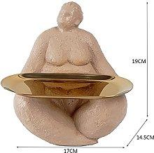 QTBH Statua in Resina Figurine Statua Scultura