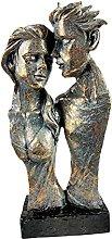 QTBH Statua in Resina Scultura casa Decorazione